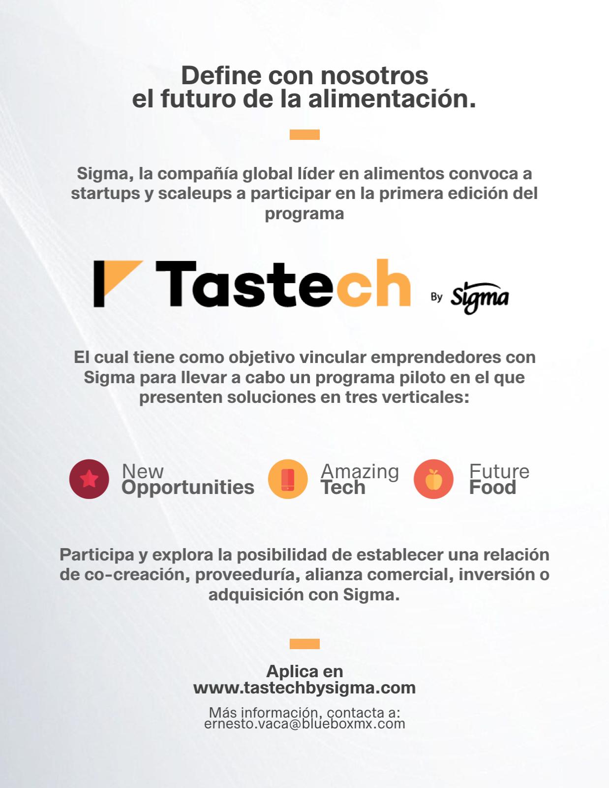 Tastech - Post - Español