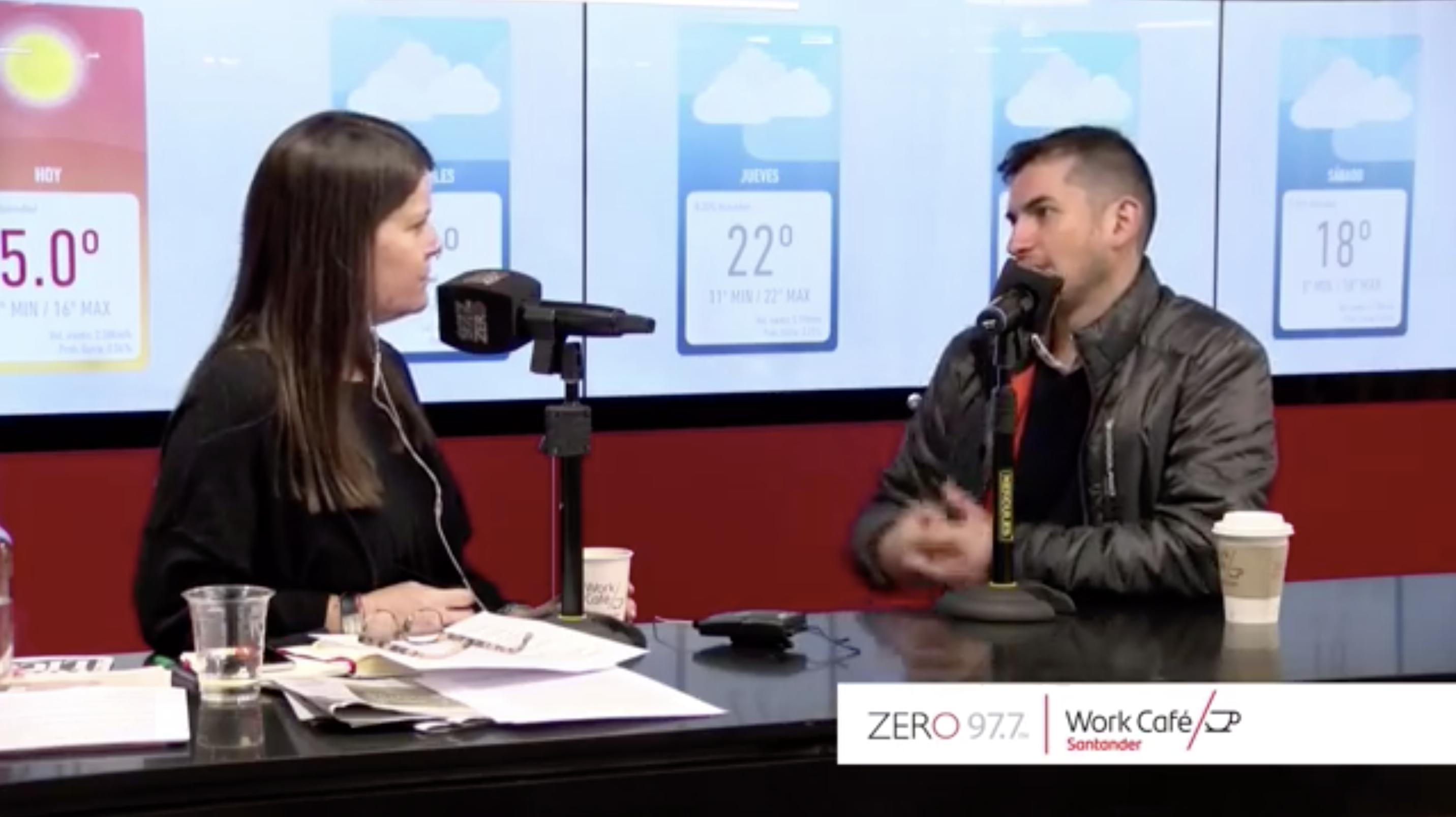 Entrevista a Daniel Molina de Fourdplan en Work Café, Radio Zero