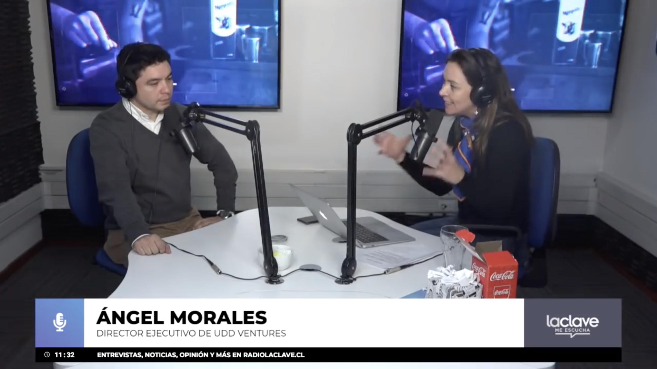 Entrevista a Angel Morales en Radio La Clave