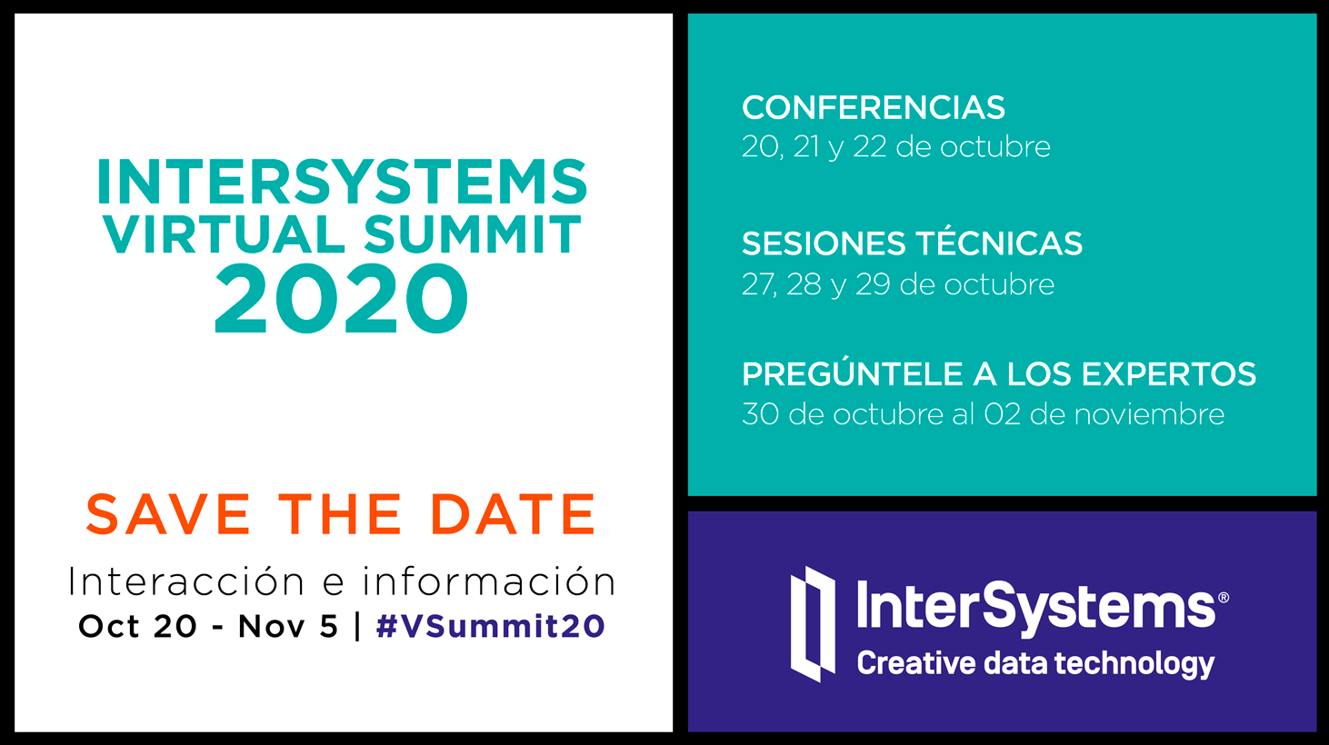 InterSystems Virtual Summit 2020.