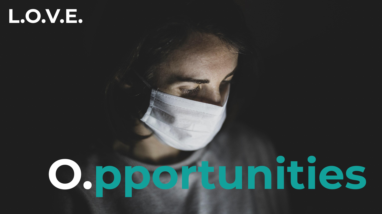 L.O.V.E. del emprendimiento en tiempos de Crisis / Opportunities.