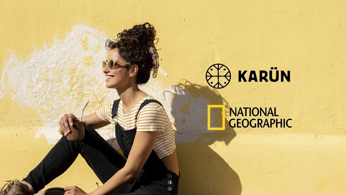 Alianza entre Karün y NatGeo estrena nueva colección de anteojos sustentables.
