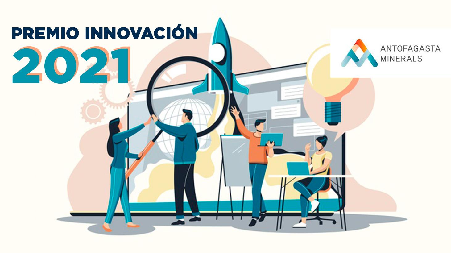 Nominación Premio Innovación Antofagasta Minerals 2021.