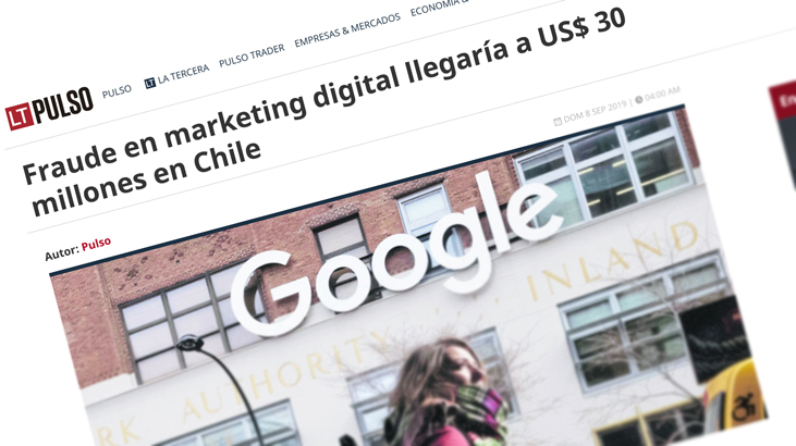 Fraude en marketing digital llegaría a US$ 30 millones en Chile