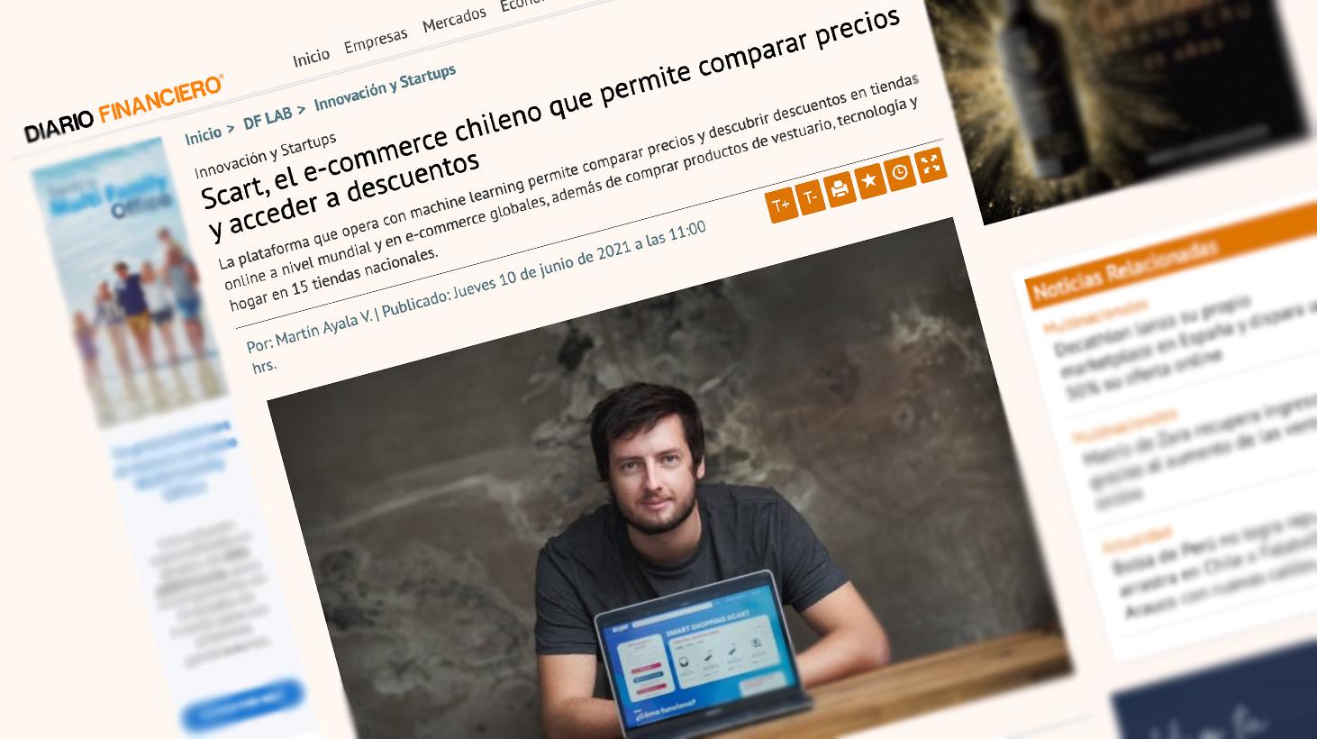 Scart, el e-commerce chileno que permite comparar precios y acceder a descuentos.